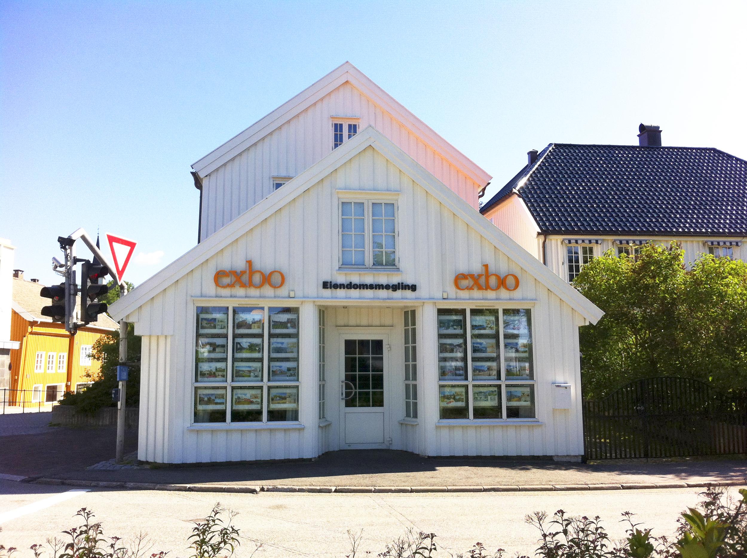 Kontorfasade Grimstad