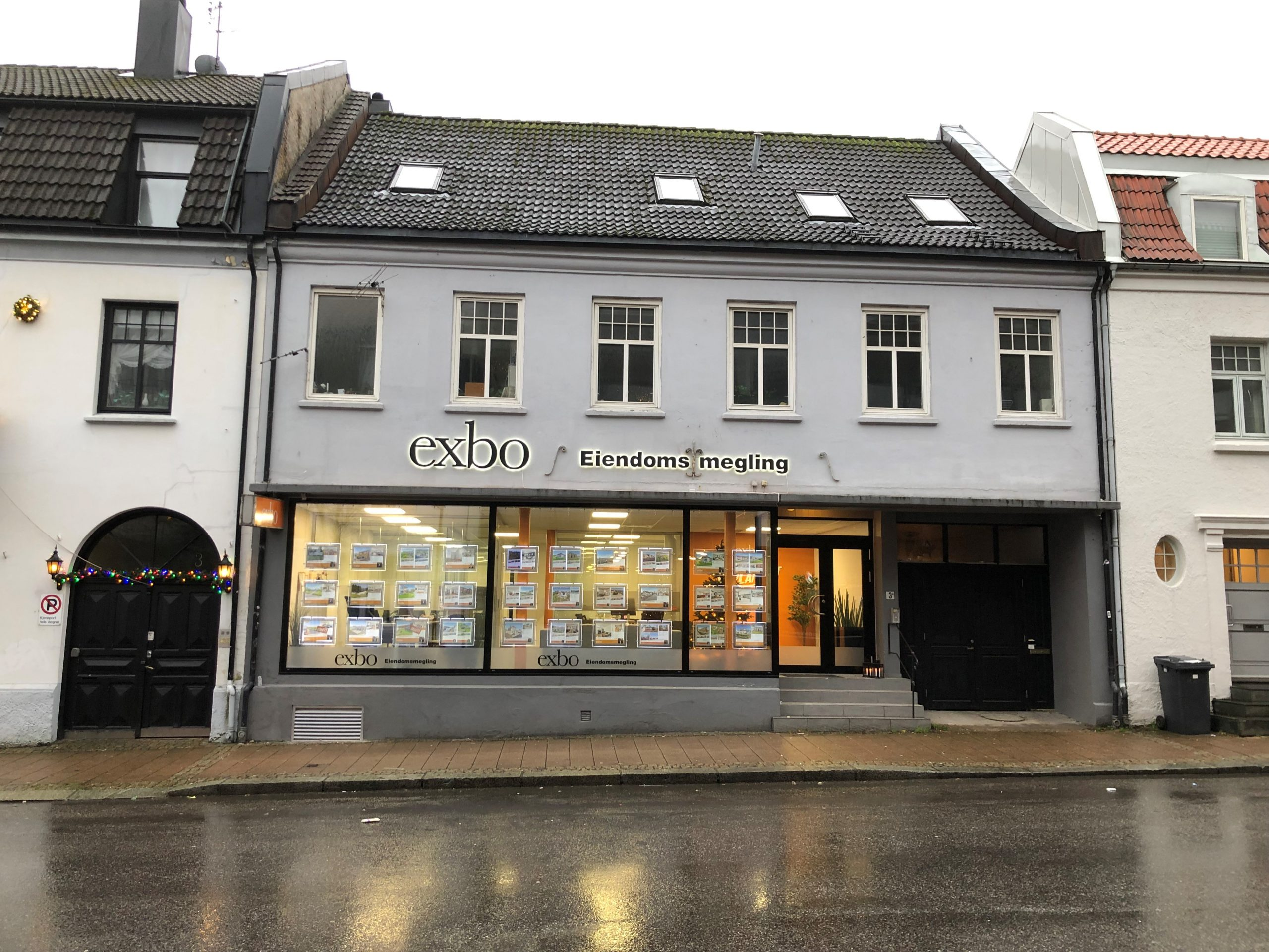 Fasade kontor Kristiansand